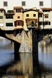 Florence - Ponte Vecchio. A close up of Ponte Vecchio's outbuildings royalty free stock photography