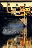 Florence - Ponte Vecchio. The very unusual style of Ponte Vecchio in Florence Stock Images