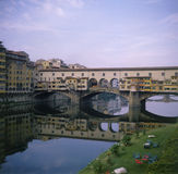 Florence: Ponte Vecchio. The Ponte Vecchio, a landmark in Florence, Italy Stock Images