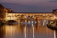 Florence (Ponte Vecchio) Stock Photography