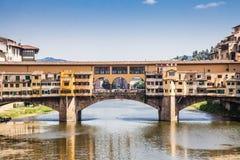 Florence, Ponte Vecchio Royalty Free Stock Photo