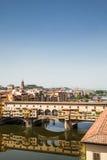 Florence, Ponte Vecchio Stock Photos