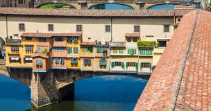 Florence, Ponte Vecchio Royalty Free Stock Photos