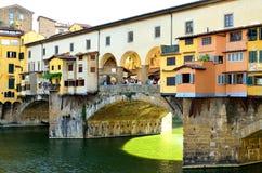 Florence Ponte Vecchio stock foto