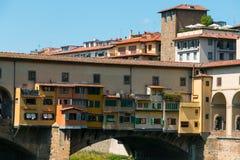 florence ponte vecchio Fotografia Royalty Free