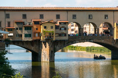 florence ponte vecchio Obrazy Royalty Free