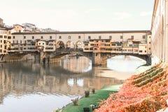 florence ponte vecchio Obraz Stock