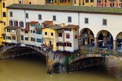 florence ponte vecchio Zdjęcie Royalty Free