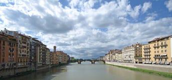 Florence - Ponte Vecchio bridge Stock Image
