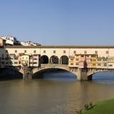 Florence. The Ponte Vecchio Bridge Stock Images