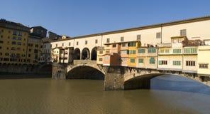 Florence. The Ponte Vecchio Bridge Stock Photography