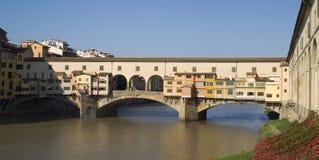 Florence. The Ponte Vecchio Bridge Royalty Free Stock Photo