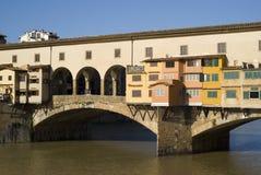 Florence. The Ponte Vecchio Bridge Royalty Free Stock Image
