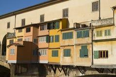 Florence. The Ponte Vecchio Bridge Stock Photos