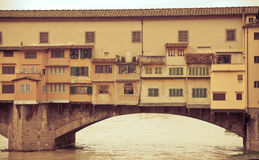 Florence Ponte Vecchio bridge Royalty Free Stock Photography