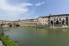 Florence, ponte vecchio Stock Images