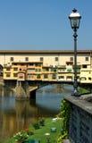 Florence, Ponte Vecchio, Italië Royalty-vrije Stock Afbeelding