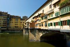 Florence, Ponte Vecchio, Italy Stock Photos