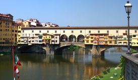 Florence, Ponte Vecchio, Italy Royalty Free Stock Photos