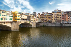 Florence. Ponte vecchio Stock Photo