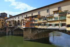 Florence - Ponte Vecchio Stock Photography