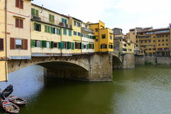 Florence Ponte Vecchio Royalty Free Stock Photography