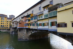 Florence Ponte Vecchio Stock Image