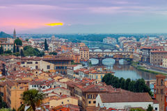 Florence. Ponte Vecchio. Royalty Free Stock Images