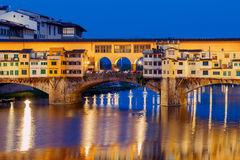 Florence. Ponte Vecchio. Royalty Free Stock Photography