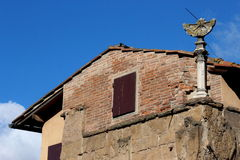 Florence, Ponte Vecchio, sundial Royalty Free Stock Images