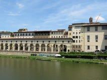 Florence Ponte Vecchio surroundings Stock Photo