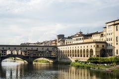 Florence Ponte Vecchio Tuscany Royalty Free Stock Photo