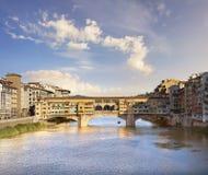 Florence, Ponte Vecchio photo libre de droits