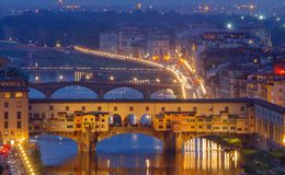 Florence. Ponte Vecchio. Royalty Free Stock Photography