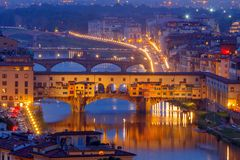 Florence. Ponte Vecchio Royalty Free Stock Photography