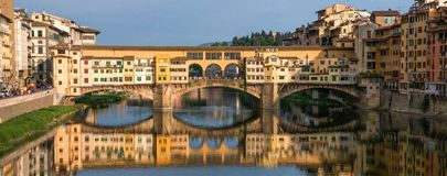 Florence - Ponte Vecchio. The wonderful Ponte Vecchio (Old Bridge) in Florence Stock Image