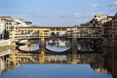 Florence Ponte vechio bridge Royalty Free Stock Images