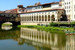 Florence Pontevecchio view Royalty Free Stock Photography