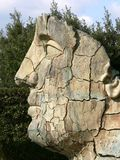 Florence posąg twarzy Fotografia Stock