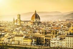 Florence Postcard Lizenzfreie Stockbilder