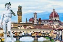 Florence Postcard Imagem de Stock