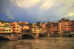 Florance. A rainy day from Florence, Italy stock photography