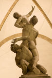 Florence - Rape of the Sabines Stock Photo
