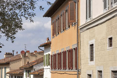 Florence residential architecture Royalty Free Stock Photo
