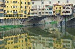 Florence River Arno Lizenzfreie Stockfotos