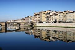 Florence River Arno Royalty Free Stock Photos