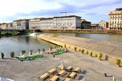 Florence river , Italy Royalty Free Stock Photo