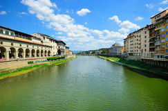 Florence river landscape Stock Photography