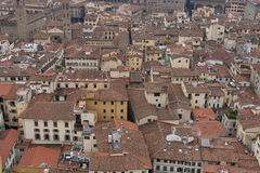 Florence roof tiles in Tuscany Stock Photo