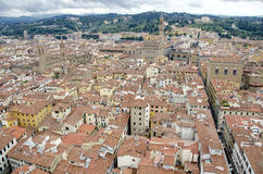 Florence, Roof top view Stock Photos